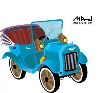 free vector Old Classic Car