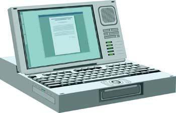 Classic Computer Vector