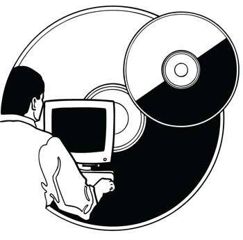 free vector Cdrom and dvdrom vector 1