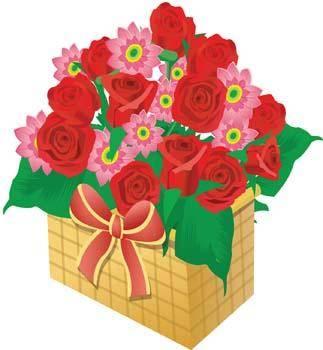 free vector Present Flower Vector 5