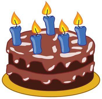 free vector Tart birthday cake 1