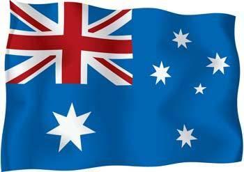 Heard and McDonald Islands Flag Vector