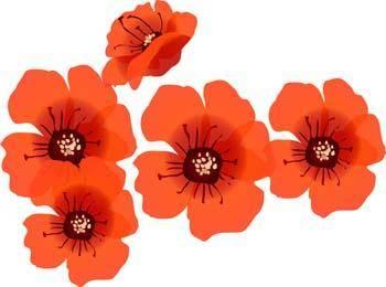 free vector Button Flower Vector 2