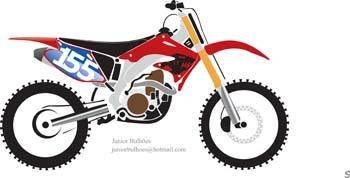 free vector Motocross Vector