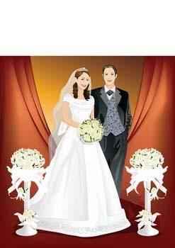 free vector Bride 7