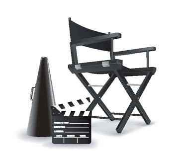 free vector Directors chair