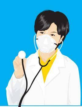 Stethoscope vector 5