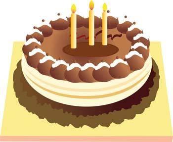 Tart birthday cake 4