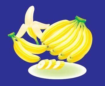 free vector Banana 4