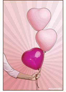 Heart vector 5