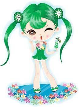 free vector Girl Anime 21