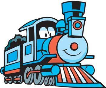 free vector Coal Train