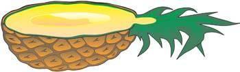 free vector Pineapple 4