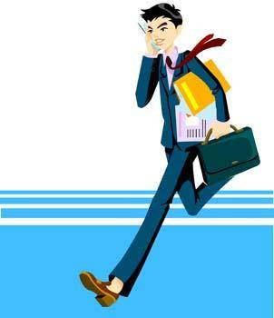 Office Man Vector 2