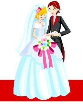 free vector Bride 3