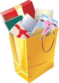Parcels of gift