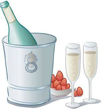 free vector Champagne for celebration vector 8