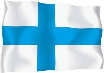 free vector Finland Flag Vector