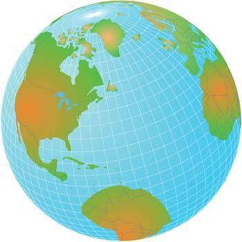 Globe Vector 11
