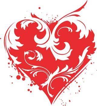 free vector Heart vector 98