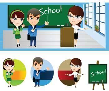 free vector School vector 7