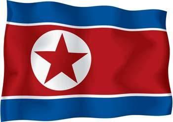 free vector North Korea Flag Vector