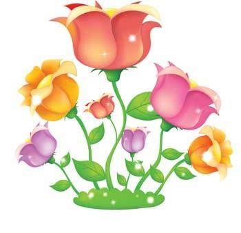 free vector Rose Flower Vetor 41