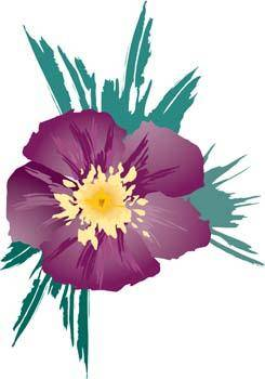 free vector Button Flower Vector 14
