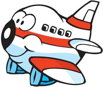 free vector Cartoon Commercial Flight
