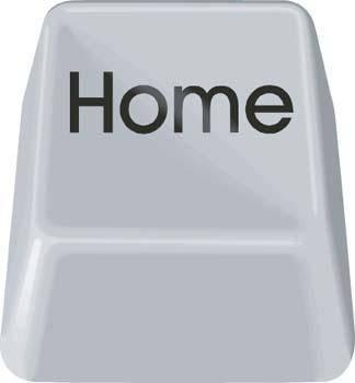 free vector Button Home Vector
