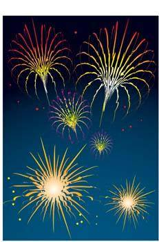 free vector Celebration and Firework 3