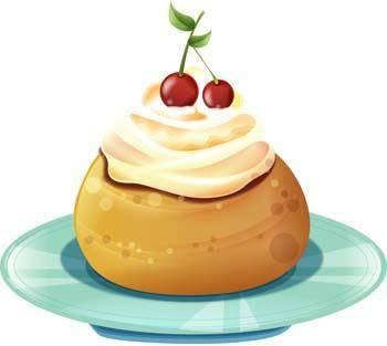 free vector Tart birthday cake 8
