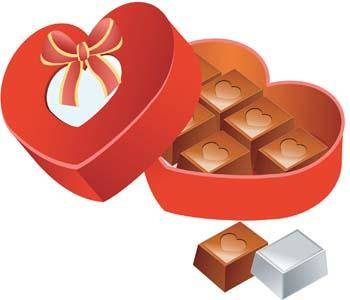 free vector A box of chocolate