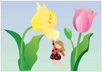 free vector Tulip Flower 8