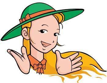 free vector Little Girl 14