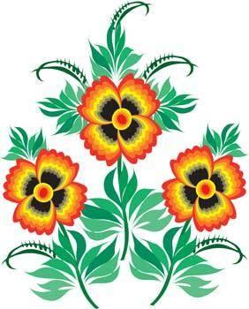 free vector Flo Flower 27