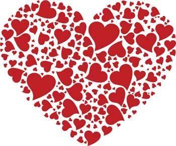 Valentine?s Heart Free Vector / 4Vector