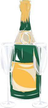 free vector Champagne for celebration vector 3