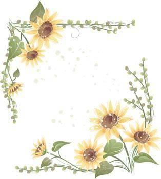 free vector Podsolnuh Flower 11