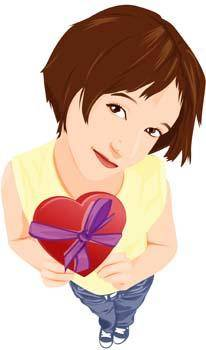 Heart vector 23
