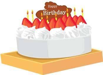 Tart birthday cake 7