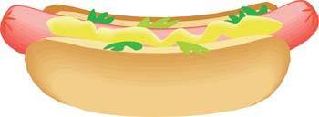 free vector Hot Dog