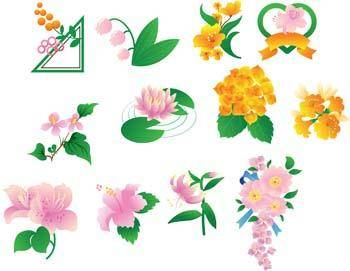 free vector Flo Flower 18