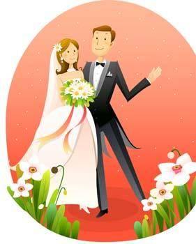 free vector Bride 19