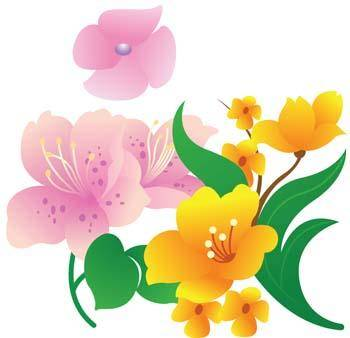 free vector Flower of Seven color 11