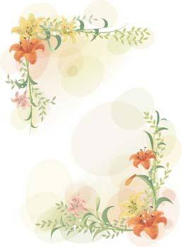 free vector Lili Flower vector 9