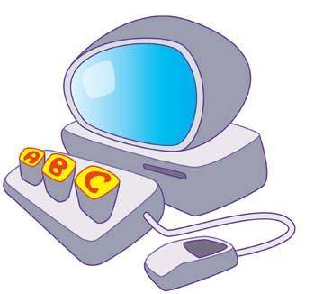 Dekstop computer vector 24