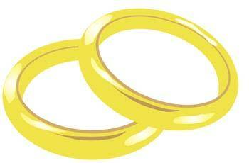 free vector Wedding ring 3