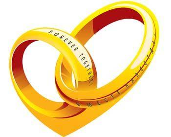 free vector Wedding ring 2