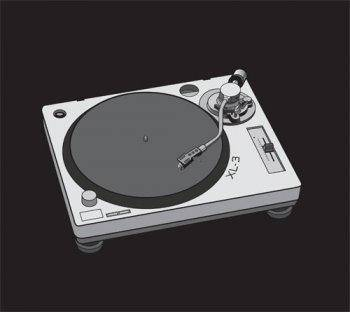 free vector Turntable vector